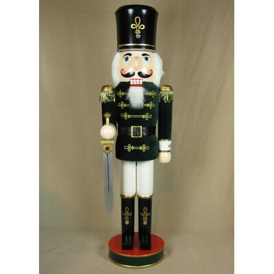 Horizons East Velvet Soldier Nutcracker