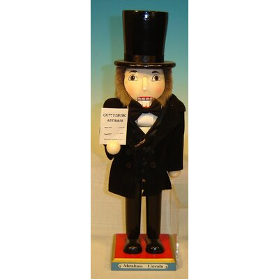 Abraham Lincoln Nutcracker