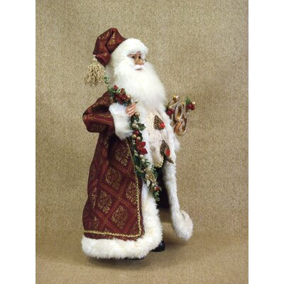 Karen Didion Originals Crakewood Joy Santa Claus Figurine
