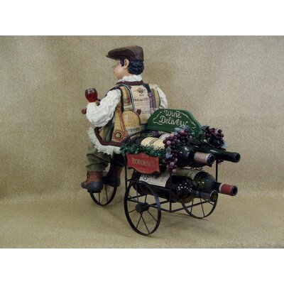 Karen Didion Originals Classic Home 4 Bottle Wine Rack Trike