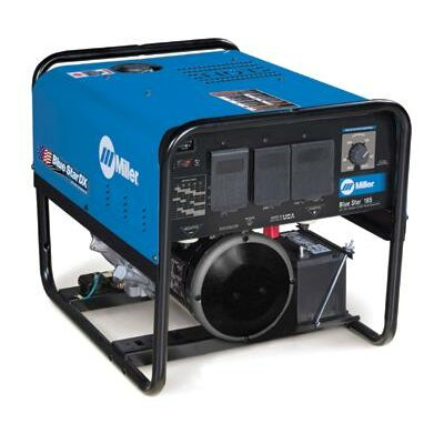 Miller Electric Mfg Co Star® 185 DX Generator Welder 185A with 12.75HP Kohler Electric Start Engine and GFCI Receptacles