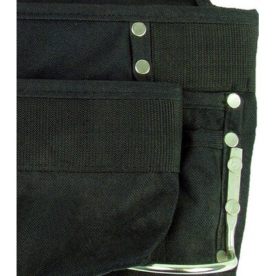 Trademark Global Professional Grade Black 8 Pocket Tool Bag