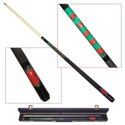 Trademark Global Blooming Rose Pool Cue