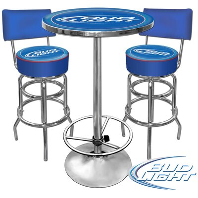 Trademark Global Bud Light Pub Table Set