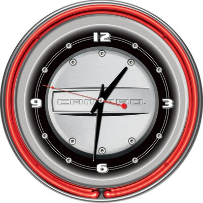 Trademark Global Camaro 14&quot; Double Ring Neon Clock