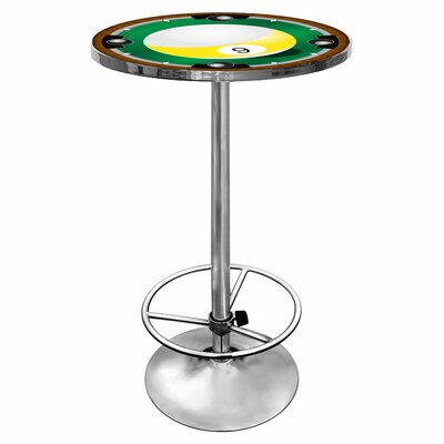 Trademark Global 9-Ball Pub Table with Foot Rest