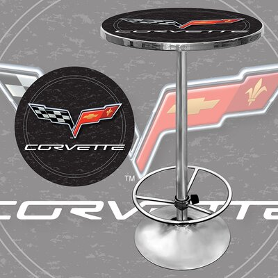 Corvette C6 Pub Table in Black