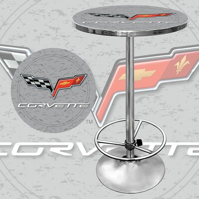 Corvette C6 Pub Table in Silver