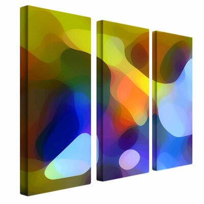 "Trademark Global 3 Piece Dappled Light and Shade by Amy Vangsgard, Canvas Art - 33"" x 27"""
