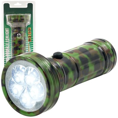 LED Camo Color Flashlight