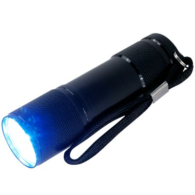 Super Bright 9 LED Flashlight with Lanyard (Set of 4)