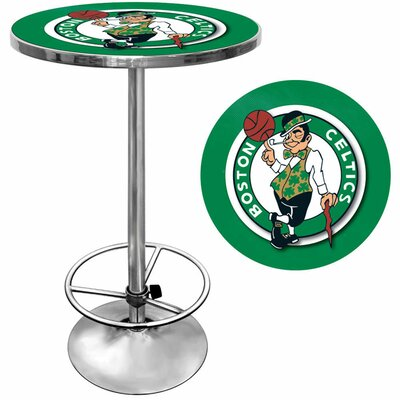 Trademark Global NBA Chrome Pub Table