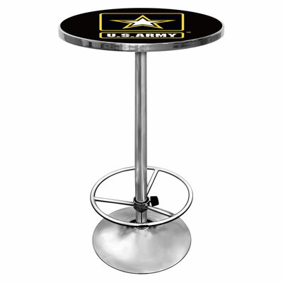 Trademark Global U.S Army Pub Table