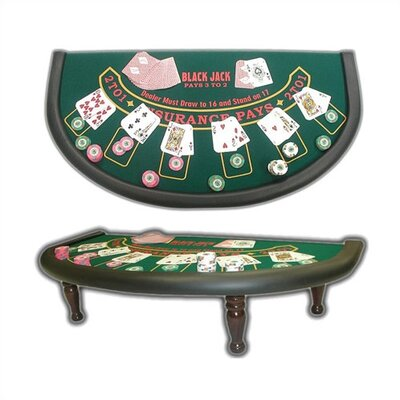 Trademark Global Blackjack Table