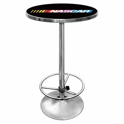 Trademark Global NASCAR Chrome Pub Table
