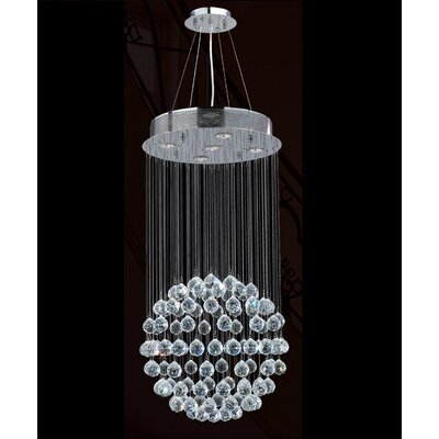 Worldwide Lighting Icicle 5 Light Chandelier