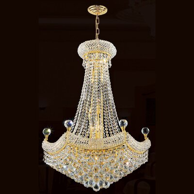 Empire 15 Light Crystal Chandelier