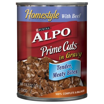 Alpo Prime Cuts with Beef Wet Dog Food