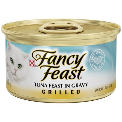 Grilled Tuna Cat Food Wet Cat Food (3-oz can,case of 24)