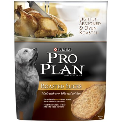 Pro Plan Roasted Slices Chicken Dog Snacks