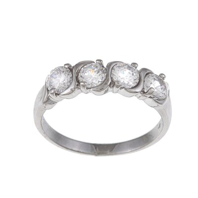 Trendbox Jewelry Cubic Zirconia Band Ring