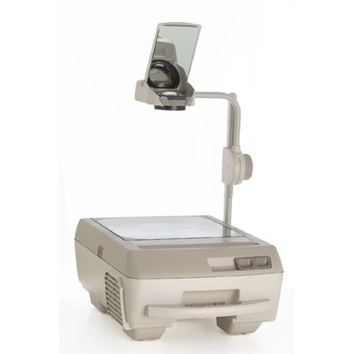 Buhl Open Head Triple Lens Overhead Projector (3000 lumens) with Fold Down Arm and Carry Handle