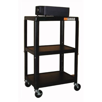 Buhl Adjustable Steel AV Cart