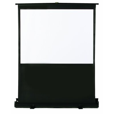 "Buhl 48"" x 36"" Portable Floor Screen - 4:3 Format"