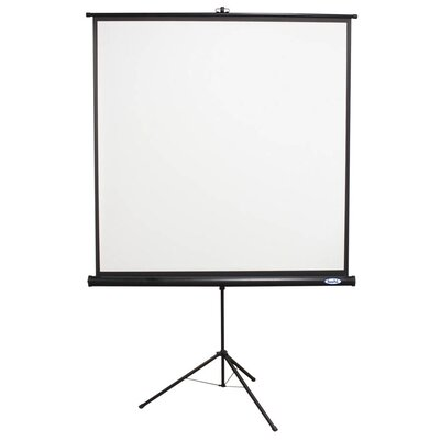 "Buhl 60"" x 60"" Projector Screen with Black Housing - 1:1 Format"