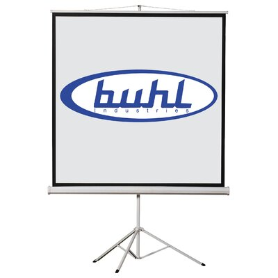 "Buhl 96"" x 96"" Projector Screen - 1:1 Format"