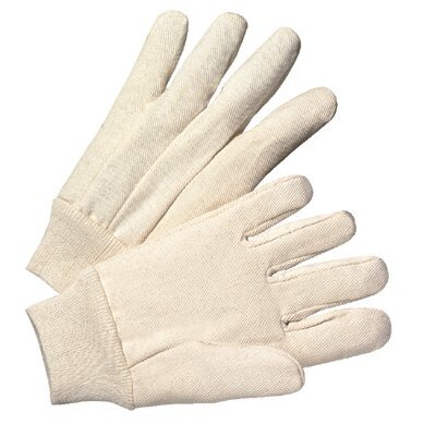 Anchor 1000 Series Canvas Gloves - 4501v 8-oz. cotton canvas knit wrist