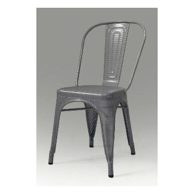 Mobital Metallica Perforated Metal Dining Chair