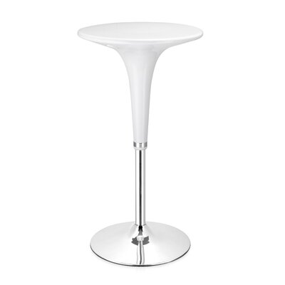 dCOR design Mojito Bar Table in White