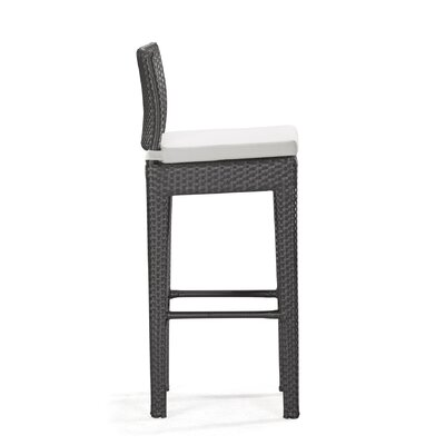 dCOR design Railay Outdoor Pub Chair in Dark Brown