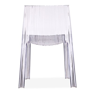 dCOR design Ruffle Transparent Chair