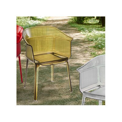 dCOR design Allsorts Chair in Transparent Brown