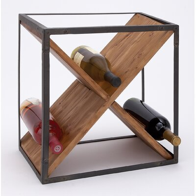 Woodland Imports 24 Bottle Wine Rack