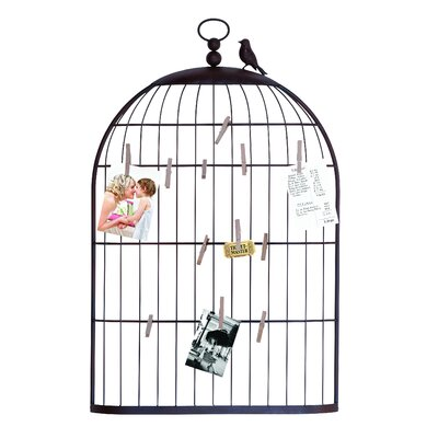 Woodland Imports Bird Cage Picture Holder