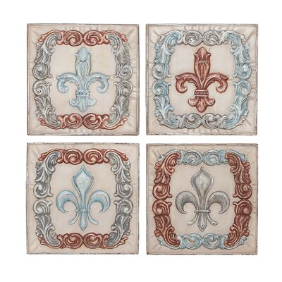 Metal Wall Decor (Set of 4)