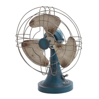 Metal Accent Fan