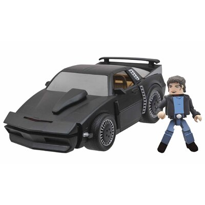 Diamond Selects Minimates Vehicle Knight Rider Kitt Super Pursuit Mode
