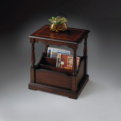 Butler Plantation Cherry Magazine End Table