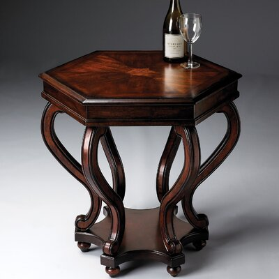 Butler Plantation Cherry Hexagonal End Table