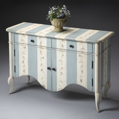 Bordeaux Stripe 2 Drawer Chest