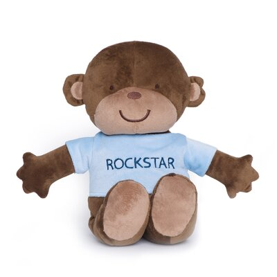 Kids Line Monkey Rockstar Plush