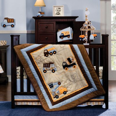Street Fleet Crib Bedding Collection