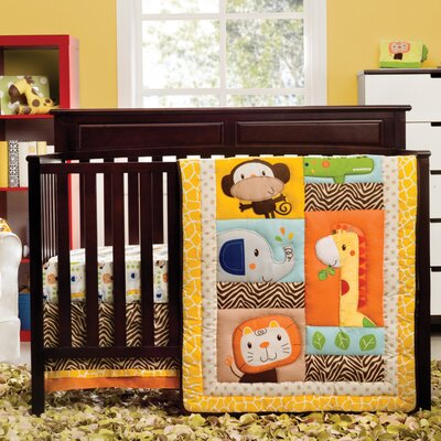 Happy Tails Crib Bedding Collection