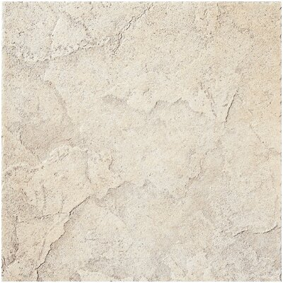 "Florim USA Marquessa 12"" x 12"" Glazed Porcelain Field Tile in Manor White"