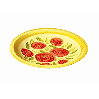 ACHLA Yellow Roses Bowl
