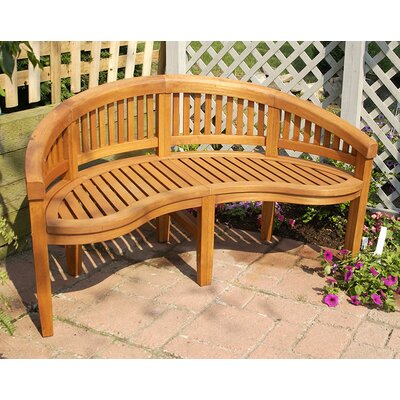 ACHLA Monet Wood Garden Bench